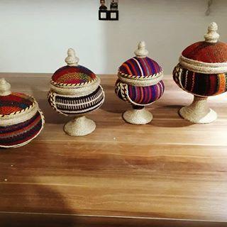 فروش ظروف تزئینی جاجیم